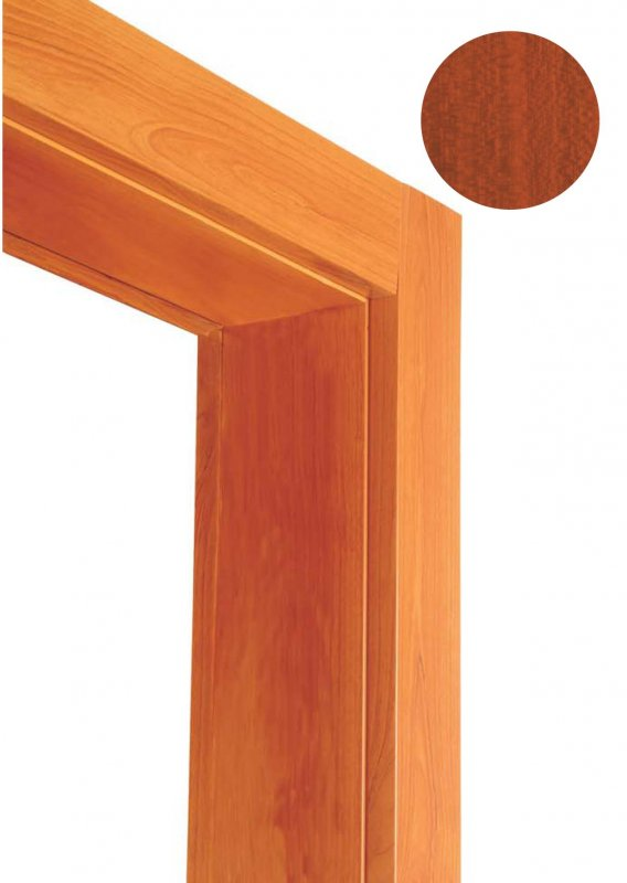 Casing frame module - light mahogany