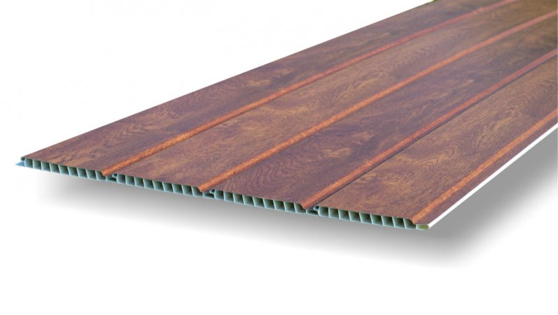 Floorboards with Renolite film - walnut